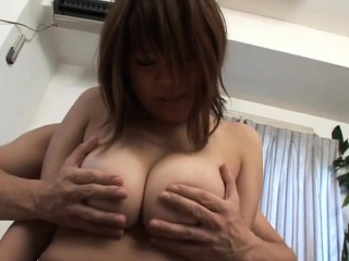 Subtitled BBW tan Japanese amateur chunky breasts fondling