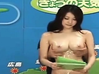 Asian Anchorwoman Gets Molested on Live TV