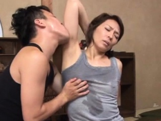 Agreeable asian matured gets her special and vagina played with