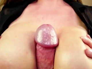 Facialized pov slut fucks