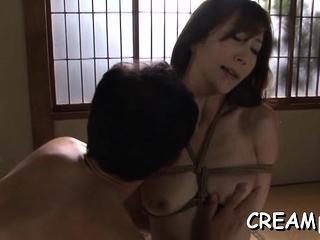 Exotic mature Reiko Sawamura's vagina wants sex