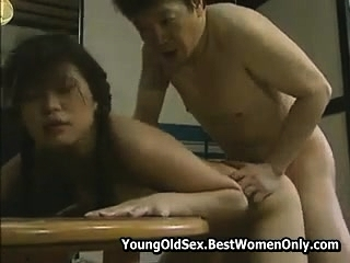 Japanese Asian Girl Prurient Adulate For Stepdad