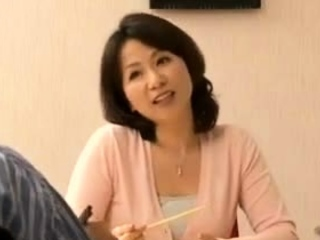 Sexual relations With My Asian Japanese Hot Aunt In Home Kitchen
