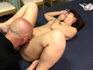 Shaved Japanese pussy fingered and licked